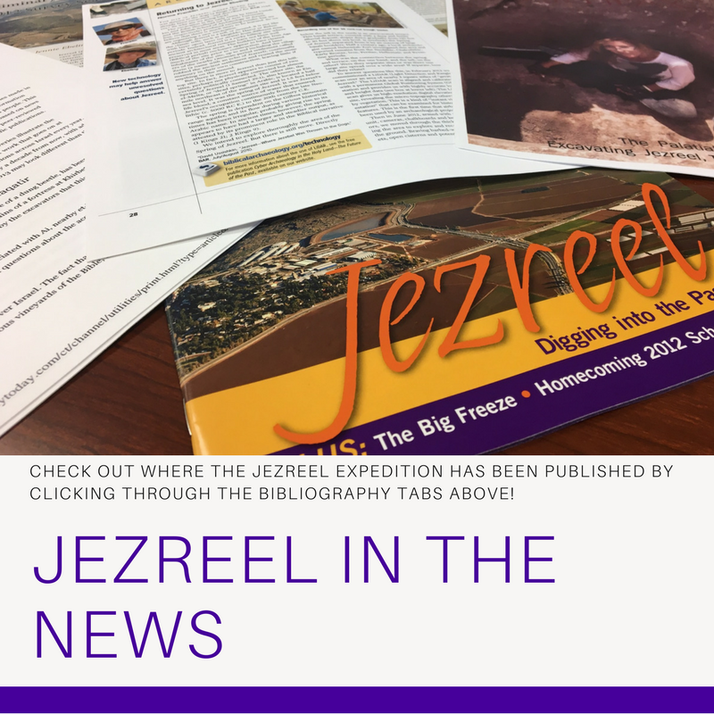 Jezreel in the News