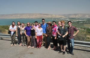 UE Group at the Sea of Galilee
